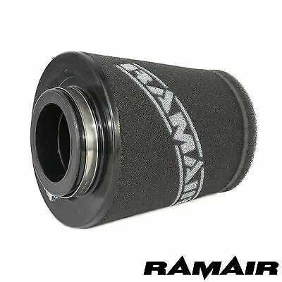 RAMAIR INDUCTION FOAM AIR FILTER UNIVERSAL 57mm/2.25in NECK HAND MADE IN THE UK