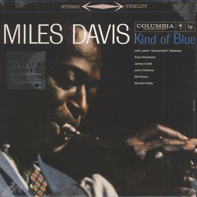 Miles Davis - Kind Of Blue Stereo Version (Vinyl LP - 1959 - EU - Reissue)