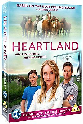 Heartland: The Complete Seventh Season - DVD NEW & SEALED (5 Discs) (Series 7)
