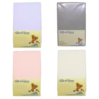 Super Soft DK Glovesheets Chicco Next 2 Me / Lullago Fitted Sheet 84 x 51cm