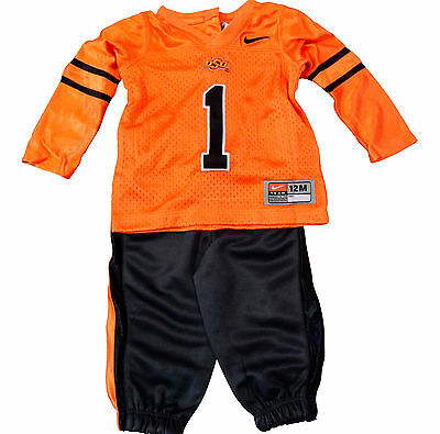 Nike Oklahoma State Cowboys Football Uniform Baby Infant Halloween Jersey Kids