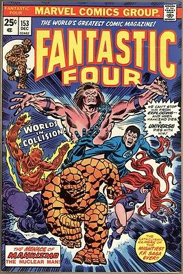 Fantastic Four #153 - VF-