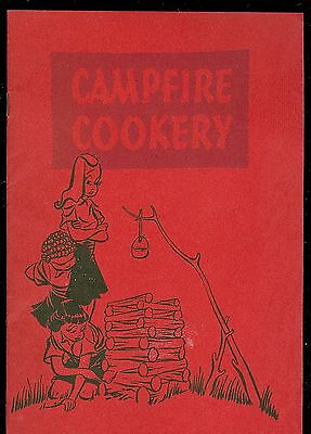 Campfire Cookery for Camp Fire Girls c1947 by Home Ec. Dept. Kellogg Co.