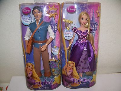 Barbie As Rapunzel & Flynn Rider The Movie Tangled New