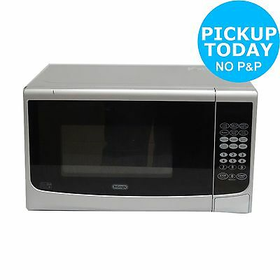 DeLonghi EG82 800W 20L Microwave with 1000W Grill - Silver -From Argos on ebay