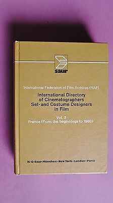 (R6_5_10) International Directory of Cinematographers Set- and Costume (Vol. 2)