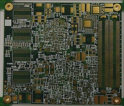 18  pc's High Yield  double side Pcb Scrap/Gold Recovery 65mm x 75mm each