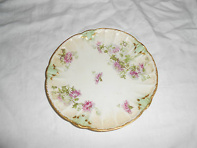 B & H Limoges hand France plate