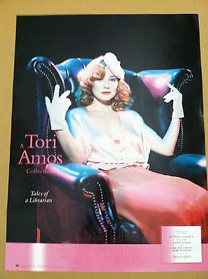 TORI AMOS 2003 Retail PROMO POSTER for Tales of Librarian CD never display USA