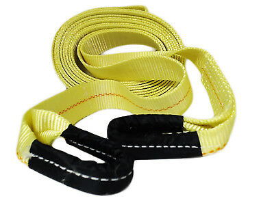 "ABN Tow Recovery Winch Strap with Reinforced Loops 2"" x 30' 16,000 LB Capacity"