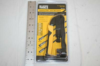 Klein Tools VDV211-063 Compression Crimper - Lateral, Multi Connector