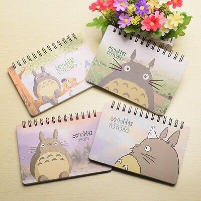 1pc Anime Tonari no Totoro Planner Book Students Memo Dairy Office Note Pads