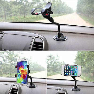 360°Mount Car Holder Universal Windshield Cradle For Apple iPhone 6 Plus 5 5S GH