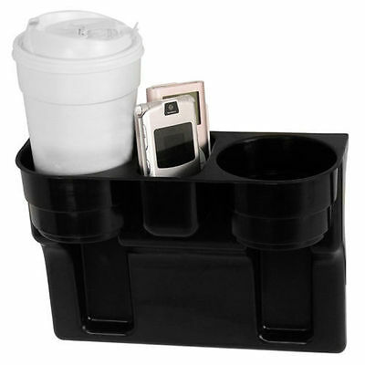 Auto Truck Car Can Water Bottle Drink 2 Cup Holder Seat Universal Mount GH