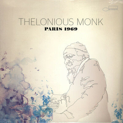 Thelonious Monk - Paris 1969 (Vinyl 2LP - 2013 - US - Original)