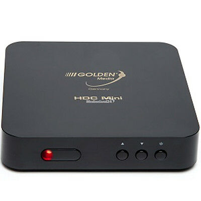 Golden Media HDC Mini DVB-C HD Kabel Receiver Full HD 1080p gebraucht