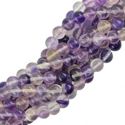 """Natural Round Smooth Jewelry Making Gemstone Loose Beads Strand 15"""" 4mm/6mm/8mm"""