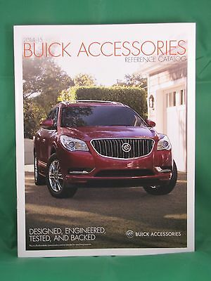 2014-15 Buick Accessories Reference Catalog - May 2014