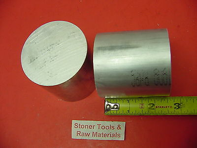 "2 Pieces 2-1/2"" ALUMINUM ROUND 6061 SOLID ROD 2.5"" long T6 Lathe Ber Stock 2.5"""