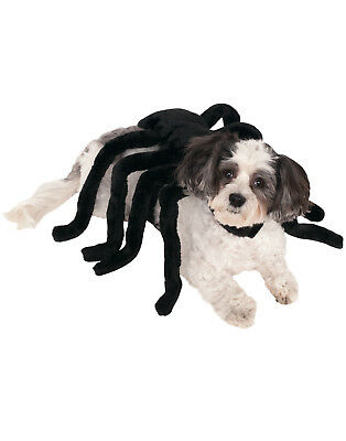 Dog Cat Pet Black Widow Spider Harness Funny Dress Up Costume