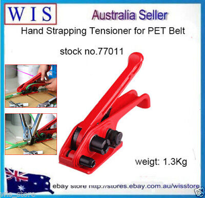 Hand Strapping Tensioner for Poly Strapping Polypropylene PET Packaging Tool