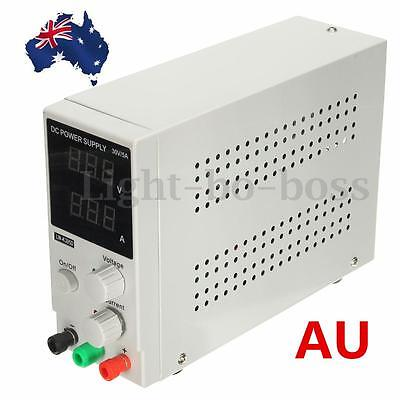 Switching DC Power Supply Adjustable Variable Precision 0~30V 0~5A Lab DD AU