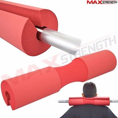 Foam Padded Barbell Bar Cover Squat Pad Weight Lifting Shoulder Back Support