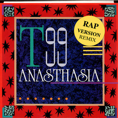 "T99 - Anasthasia (Rap Version Remix) (Vinyl 12"" - 1991 - DE - Original)"