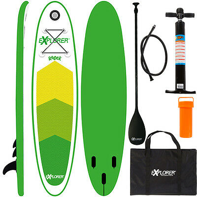 Explorer Stand Up Paddle Surfboard 300Cm Aufblasbar Paddel Pumpe Sup Isup 28300