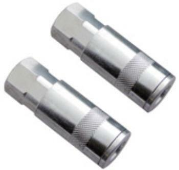 """2pc 1/4"""" BSP Airline Quick Coupler female Coupling Air Line Connection Fitting"""