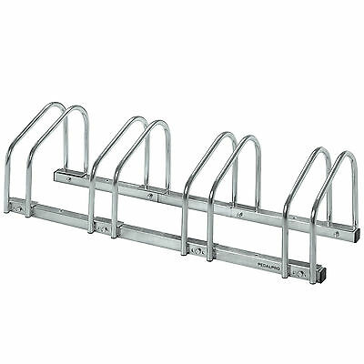 Pedalpro 4 Bicycle Floor/wall Mount Storage Rack Bike/cycle Locking/garage Stand