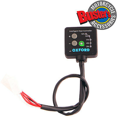 New V8 Oxford Products Hotgrips Heat Control Switch Hot Heated Grips Controller