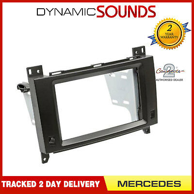 CT23MB28 Double Din Stereo Fascia Panel Adaptor For MERCEDES A Class 2004-2012