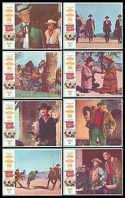 HOUR OF THE GUN orig lobby card set JAMES GARNER/WYATT EARP 11x14 movie posters
