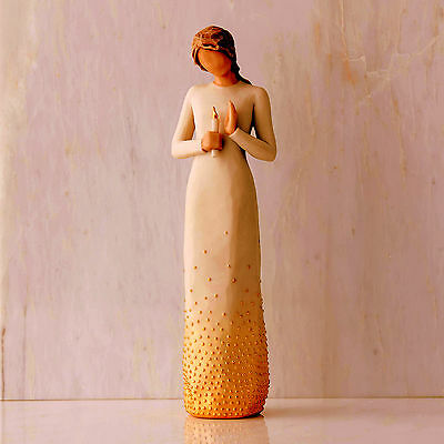 Willow Tree Figurine - Vigil, from the Signature Collection, 27538
