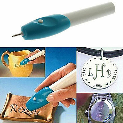 TI AU Hot Electric Jewellery Jewelry Engrave Engraving Engraver Pen Carve Tool