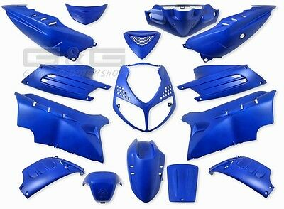 Fairing Set Fairing 15 Fairing Parts Blue Matte Peugeot Speedfight