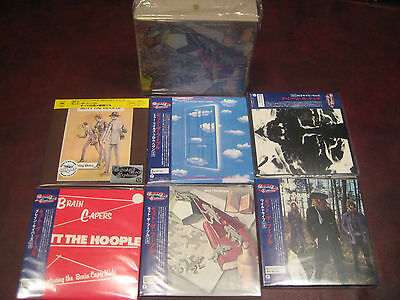 Mott The Hoople All The Young Dudes Japan Rare Replica British Rock Series Obicd