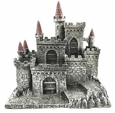 Medieval Middle Ages Castle Fortress For Miniature Display Stand Figurine Statue