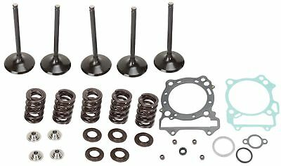 Moose Complete Stainless Steel Valve Kit / Gaskets For Yamaha YZ WR 250 F 02-13