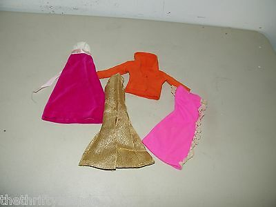 Lot Barbie Fashion Doll Clothes Clothing Vintage 16901