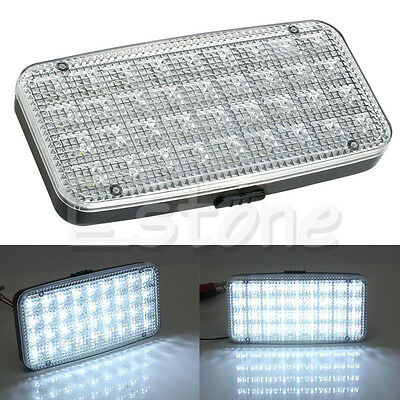 12V 36 White LED Ceiling Dome Roof Interior Light Lamp For Car Auto Van Trunk
