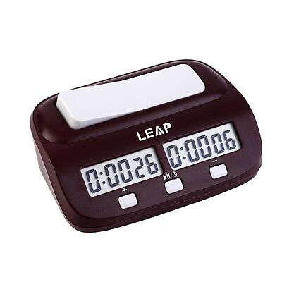 Chess Clock Timer Digital Chess Clock Two LED Screens Fashion Simple GH