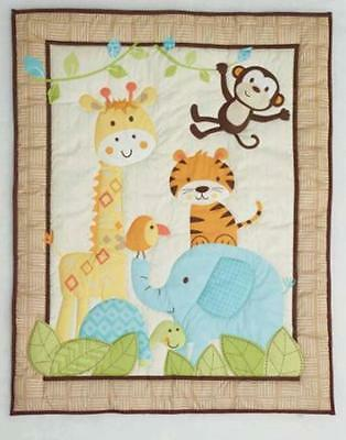 Garanimals Animal Antics 3-Piece Crib Bedding Set
