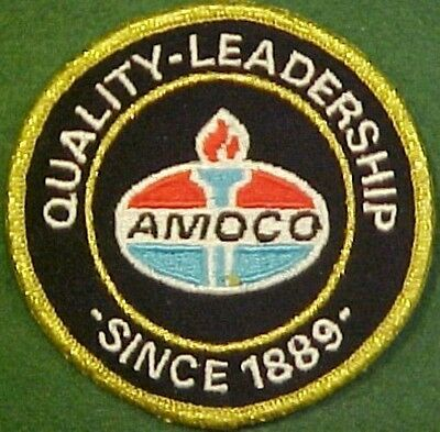 Amoco Quality Leadership Since 1889 Patch