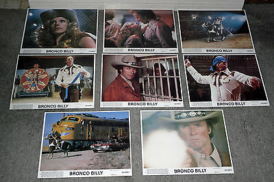 BRONCO BILLY original 1980 color lobby still set CLINT EASTWOOD/WILD WEST SHOW
