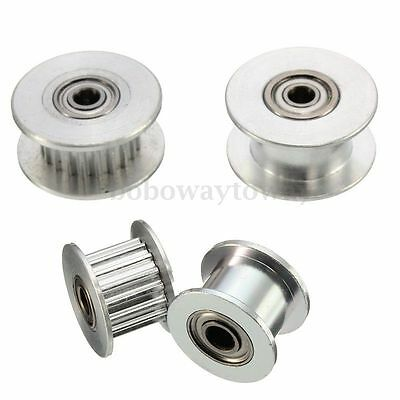 16/20T GT2 Aluminum Timing Drive Pulley For DIY 3D Printer With/Without Tooth T