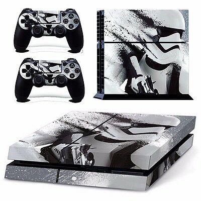 Star Wars Sticker For PS4 PlayStation 4 Console + 2 Controller Protector Skin