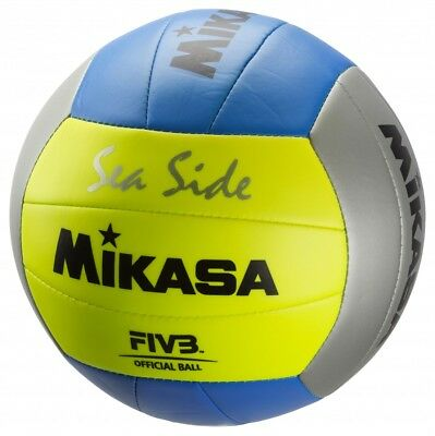 Mikasa Beach-Volleyball Sea Side gelb / blau / silber