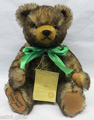 Old German Teddy Bear Replica 1929 1106/3000 Hermann-Spielwaren GC